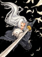 Final Fantasy - Sephiroth by Keatopia