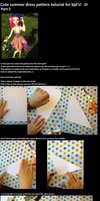 Cute BJD summer dress pattern tutorial! :D by Aabenhuus