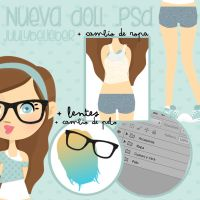 Doll .psd by JuulyBelieber