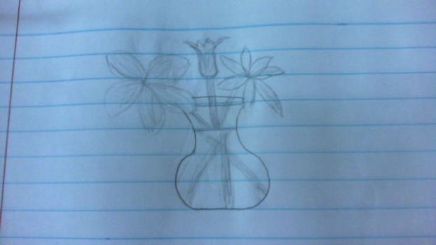 Vase Of Flowers by Give-away-points