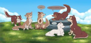 Aleu and Taku's Offspring by ThisCrispyKat
