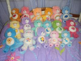 Care Bears Collection Vintage by KessieLou