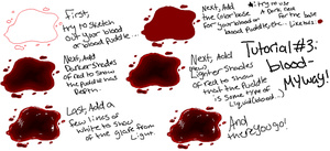 Tutorial 3:Blood and blood puddles-my way by StickFreak