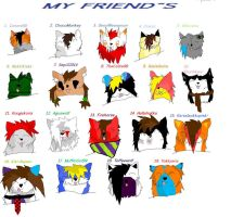My Friend`s by Kihomi-doglover