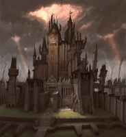 Altdorf - The Emperor's Palace by JonathanKirtz