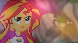 I Must Protect Her by PaulySentry
