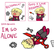 Shulk is a nerd by cherriegal