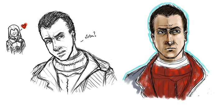 Machiavelli Sketches by spinnigold