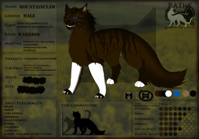Mountainclaw_Ref Sheet by Avroora