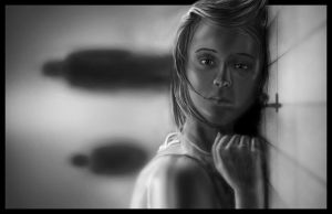 Quiet Grayscale by martialartist11