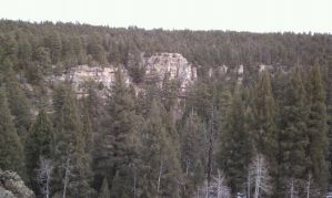 Kaibab Cliffs by ThePoisonSword