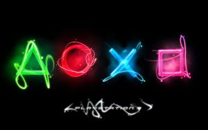 PS3 Wallpaper by chromophobic