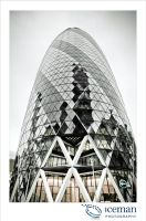 The Gherkin 01 by IcemanUK