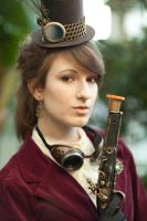 Steampunk Shoot 6 by LadyduLac