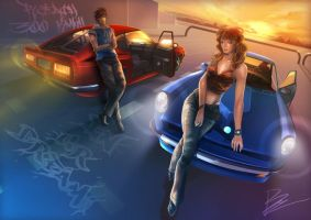datsun z in ur dream by unrealsmoker
