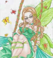 Fairy Evergreen by DevilishMirajane
