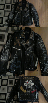 Zelo Warrior Jacket - Finished Product by fadingforest
