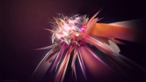 Abstract flower by iEvgeni