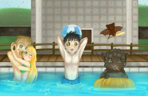 Sips Co Pool Party! by Hiiragi-Wasabi