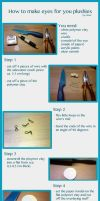 Polymer clay eye tutorial (for plushies) by nfasel