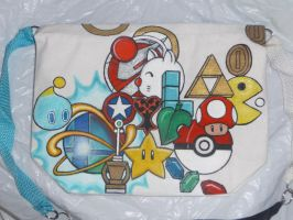 Classic Gamer - Redesigned Tote Bag ZOOM by Paradox-Artistry
