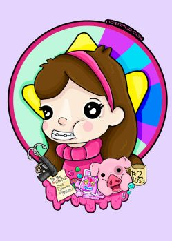 Mabel - Gravity Falls by falt-photo