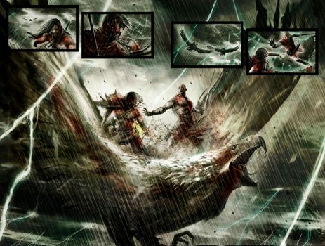 God of war 5, pag 13-14 by Sorrentino82