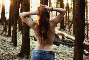 Naked wood by LucienWittwer