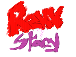 Rexx and Stacy [LOGO] by BebeMonkey