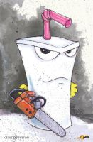Master Shake Aqua Teen Hunger Force ATHF by ChrisOzFulton
