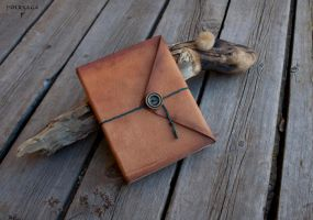 Lamb Leather Notebook by Folksaga