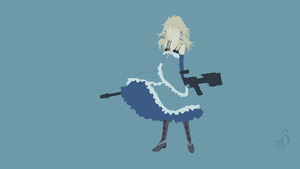 [Request] Black Bullet - Tina Sprout by Krukmeister
