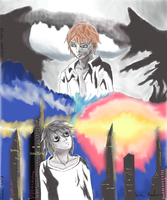 Fusion of Shinigami and human world by toTheMadness