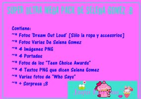 Super Ultra Mega Pack De Selena Gomez :B by Jaaquii