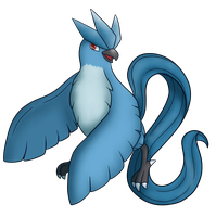 144: Articuno by CollectionOfWhiskers