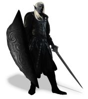 Dark Elf Warlord (1rst iteration) by Tanorax