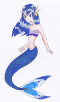 Blue Mermaid by Fensy