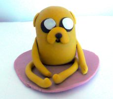 Jake The Dog Cake Topper by RavenEnergy
