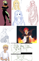 Mad World :: Sketchpile 2 by RyuichiFoxe