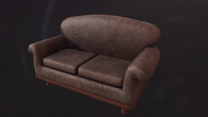 Old Sofa by corviera