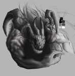 Ifrit - WIP by CaymArtworks