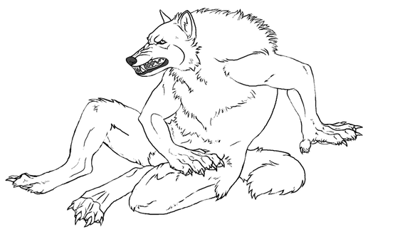 werewolf and anthro on k9-bases