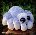 Bartholomew - plush spider by csgirl