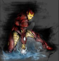Iron Man by Inked-Phoenix