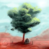 Lonely Tree by vempirick