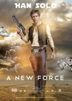 Han Solo  A new force by berds