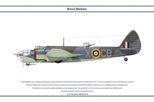 Blenheim GB 105Sqn by WS-Clave