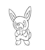 Ansho Fakemon- Fire Starter Rabbit by Casey333