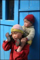 Children from Nepal by mselam