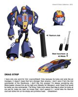 TFA Stunticons: Drag Strip by DarioCld